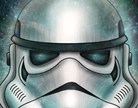 Stormtrooper digital painting