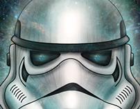 Stormtrooper digital painting