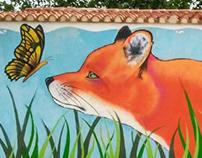 Taller de graffitis y zorro