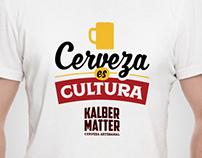 Diseño Remeras Kalbermatter Cerveza Artesanal / 2016