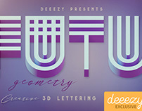 Futuristic Geometry - FREE 3D Lettering