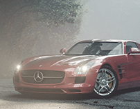 The Stormy Journey 14e - Mercedes-Benz SLS AMG