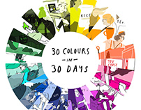 30 colours in 30 days