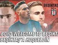 TYLER BOYD WELCOME TO BEŞİKTAŞ | BOYD BEŞİKTAŞ'TA...