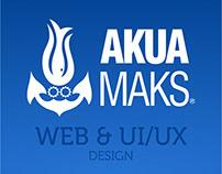 AKUAMAKS • WEB & UI/UX DESIGN