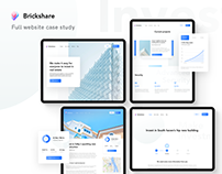 Brickshare website Case-study