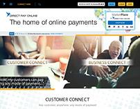 Direct Pay Online, branding & website design