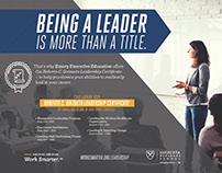 Leadership Certificate Ad