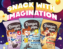 SNACKS WITH IMAGINATION POSTERS