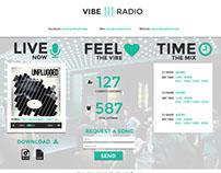 VIBE - Radio & DJ psd tempalte