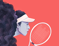 Naomi Osaka / Racquet Magazine