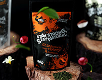 Package design for tea