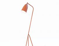 FREE 3D MODEL - GRASSHOPPER by GUBI