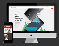 Karbonn Mobiles Website Design and Development