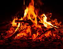 Flames - Study 10/2016