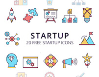 Startup Vector Free Icon Set