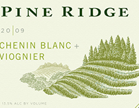 Pine Ridge Vineyards Labels Illustrated by Steven Noble