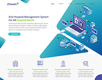 Landing page for dhealth