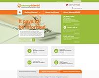Revamp MONEYSENSE gov site