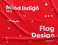 Mood Indigo Flag Design