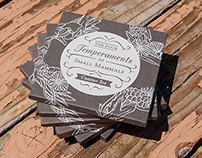 The Four Temperaments Coaster Set