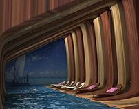 Optical Illusion Swimming Pool