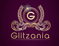 Glitzania Jewellery Logo Design