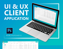 UI & UX client application