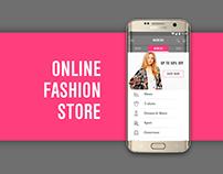 Online Fashion Store. App Design