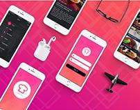 Launcha Restaurant IOS App