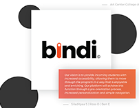 IXD101 - Mid Sem Project // Bindi