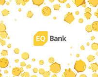 EQ Bank Mascot Illustrations