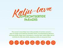 Kalju-lava 2017 season identity