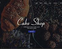 Cake Shop.Landing Page