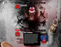 Capoeira Abolicao - web design
