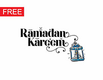 RAMADAN TYPOGRAPHY FREE 2018