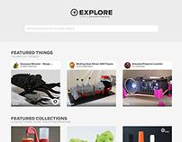 Concept: MakerBot Explore