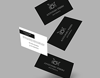 Business card for a drummer