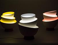 Pile lamp