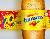 Rótulo 70 anos - Tubaína Funada