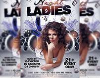 Ladies Night - Premium A5 Flyer Template
