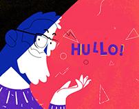 HULLO - Illustration & Animation