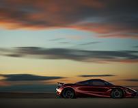 McLaren 720s at Sunset