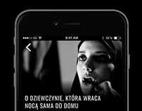 Mobile App / The repertoire of cinemas