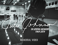 In Loving Memory: Julie Johnson Memorial Video