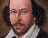 Shakespeare - 400 Years Original Illustrations 16x16
