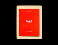 PAAR Magazine Thesis