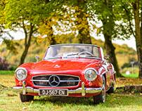 Belles d'autrefois- concours de voitures anciennes