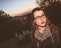 Portrait in Midnight - Lena