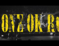 ONE OK ROCK 台北演唱會廣告